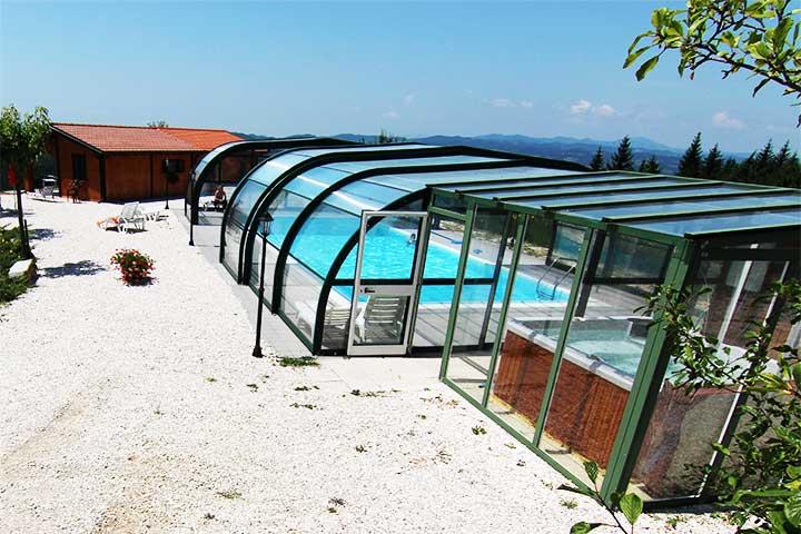 Piscine coperte private - Agriturismo con piscina riscaldata ...